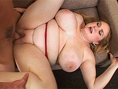 Fatty Allysa Andrews Bends Over to Accept One Large Member