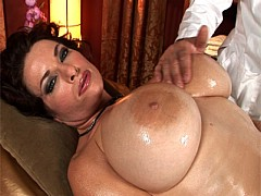 Goldie Blair Gets Her Massive Tits Rubbed