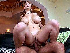 Cumming All Over Terry Nova