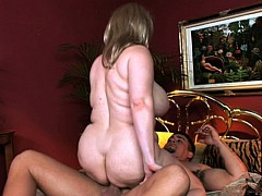 Big Girl Samantha Rides Hard Dick